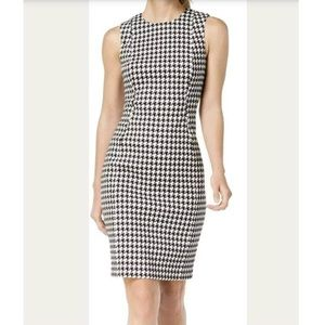 Calvin Klein Sleeveless Tweed Sheath Dress